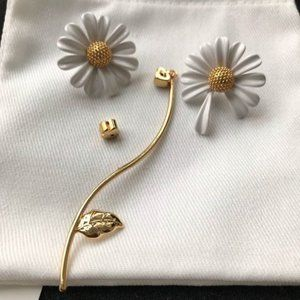Kate Spade Into the Bloom Statement Earrings